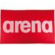arena Handy handdoek rood/wit